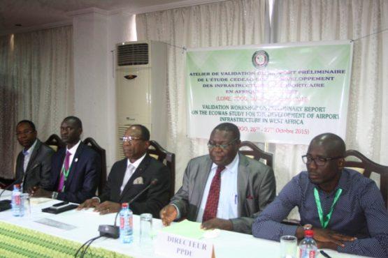 CEDEAO infrastrucures aéroportuaires 555x370 - Plan directeur des infrastructures aéroportuaires  : la question au centre d'une réunion de la CEDEAO à Lomé