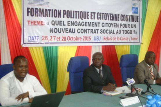 CNSC formation 555x370 - Créer les conditions d'un nouveau contrat social au Togo: la CNSC s'y engage