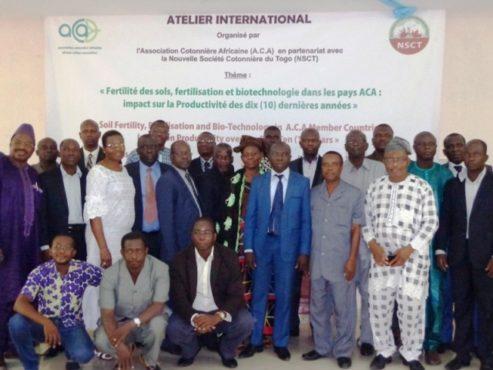 """A.C.A photo bon 493x370 - Autour de l'objectif """" 5 millions de tonnes de coton fibre à l'horizon 2022"""": l'Association Cotonnière Africaine tient un séminaire international à Lomé"""