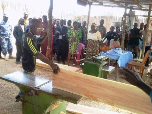 Jeune entrepreneur de Wahala bon 493x370 - Projets et programmes du ministère du Développement à la Base: Victoire Tomégah-Dogbé à Kara et dans les  Plateaux  pour l'état des lieux