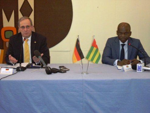 """Togo Allemagne 493x370 - Initiative """"  Un seul monde sans faim"""": l'Allemagne appuie le Togo à hauteur de 10 milliards"""
