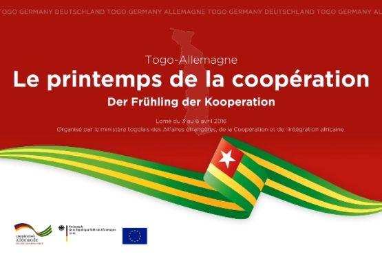 Visuel printemps de la coopération germano togolaise bon 555x370 - Le printemps de la coopération Togo-Allemagne les 4 et avril à, Lomé