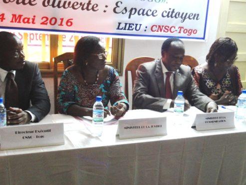 Espace citoyen bon 493x370 - Journée internationale de l'action citoyenne: La CSNC-Togo a marqué l'événement