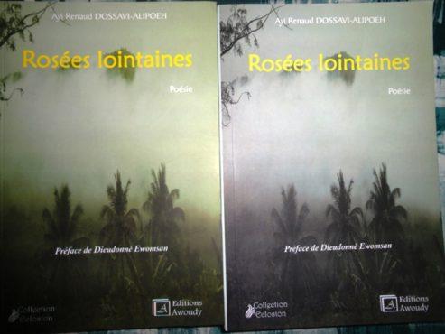 """Rosées lointaines 493x370 - Vient de paraître: """" Rosées lointaines"""", un recueil de poèmes de Ayi Renaud Dossavi-Alipoeh"""