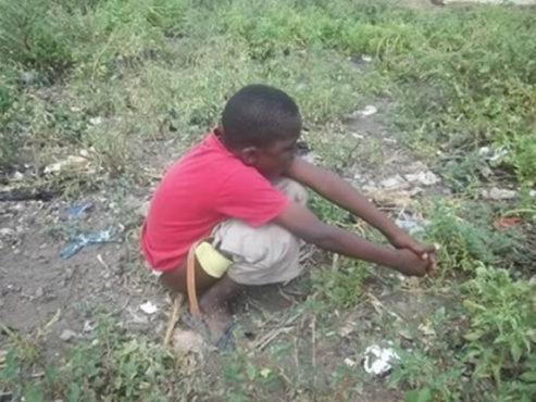 defecation 493x370 - Défécation à l'air libre : L'autre visage du marché de Vogan