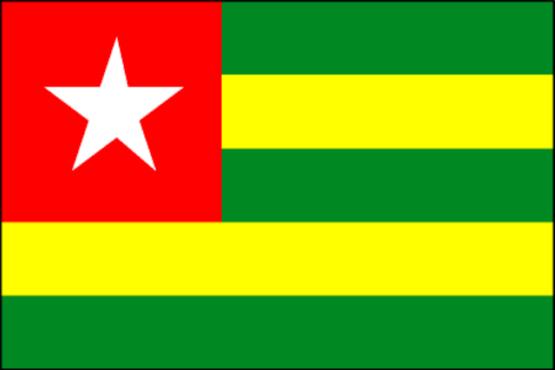drapeau togo bon 555x370 - En conseil vendredi 09 novembre 2018: le gouvernement adopte un projet de loi portant modification des articles 59, 60 et 100 de la Constitution