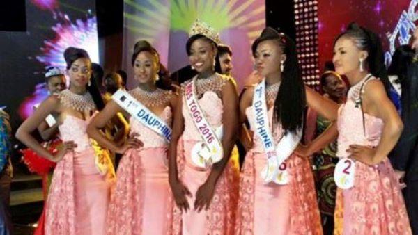 Miss Togo 2016 bon bon 1 600x338 - Miss Togo 2016 : Mlle d'Almeida Balbina Mawubedzo couronnée