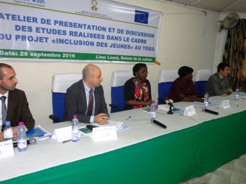 Etudes inclusion des jeunes 1 493x370 - Etudes sur l'inclusion des jeunes au Togo : les résultats présentés aux acteurs nationaux