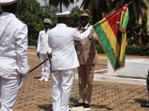 FAT 493x370 - A la tête de l'Armée de Terre et de la Marine nationale : le Colonel Sogoyou Kpatcha et le Capitaine de Vaisseau Mayo Kossi, ont pris commandement
