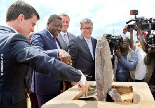 Centre d'enfouissement technique d'Aképé 531x370 - France-Togo : Faure Gnassingbé et Manuel Valls posent la première pierre d'un centre d'Enfouissement Technique à Aképé