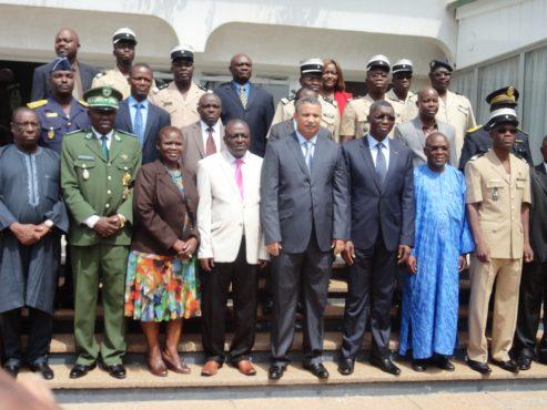 Réunion experts CE 493x370 - En prélude à la réunion des ministres de la sécurité du Conseil de l'Entente :   des experts de la sécurité et des frontières en réunion à Lomé
