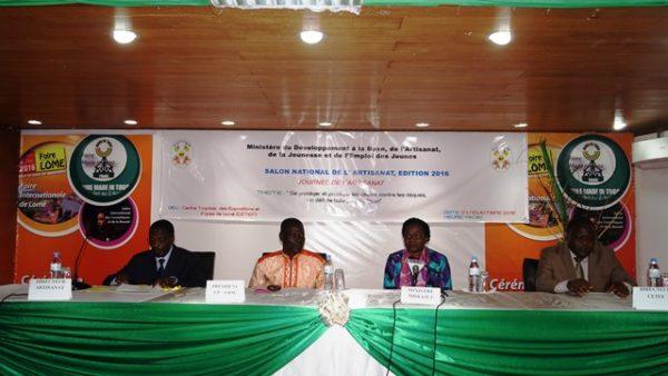 SANAT 600x338 - La 8è édition  du Salon  National de l'Artisanat  se  déroule à la foire internationale de Lomé