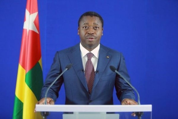 Voeux Faure Gnassingbé 600x400 - Togo/ Faure Gnassingbé durcit la lutte contre le corona virus