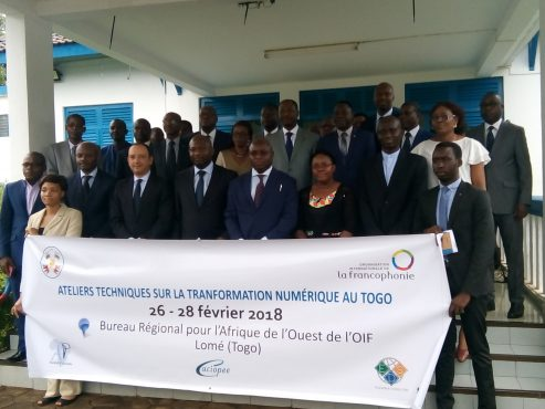 IMG 20180226 095611 493x370 - L'OIF veut accompagner la transformation numérique au Togo