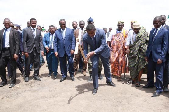 IMG 6438 555x370 - Le Chef de l'Etat lance le Projet de Développement Rural de la Plaine de Djagblé