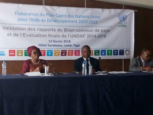 UNDAF 2019 2023 493x370 - Elaboration de l'UNDAF 2019-2023 : le gouvernement et le Système des Nations Unies au Togo s'activent