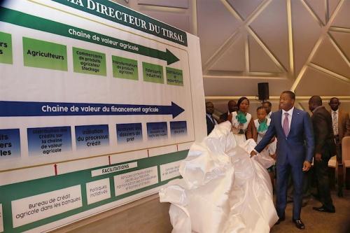 b2b9c525f7c1bb49a335e91be11dad8b L - Faure Gnassingbé lance TIRSAL , un mécanisme innovant pour le secteur agricole