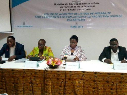 IMG 20180517 WA0020 493x370 - Vers la mise en place d'un dispositif de protection sociale des artisans togolais