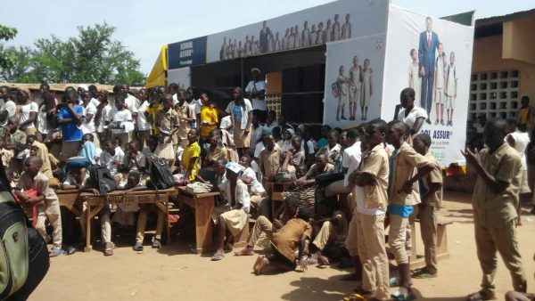 IMG 20180524 WA0041 600x338 - Sensibilisation sur le programme ''School Assur'': après les lycées d'Agoè-Centre et Est hier, les CEG de Togblékopé et d'Adétikopé aujourd'hui