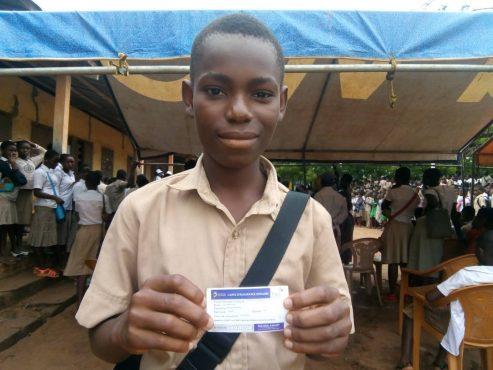 IMG 20180525 WA0066 493x370 - Au Lycée de Zanguéra, 382 élèves ont été pris en charge grâce à''School Assur''