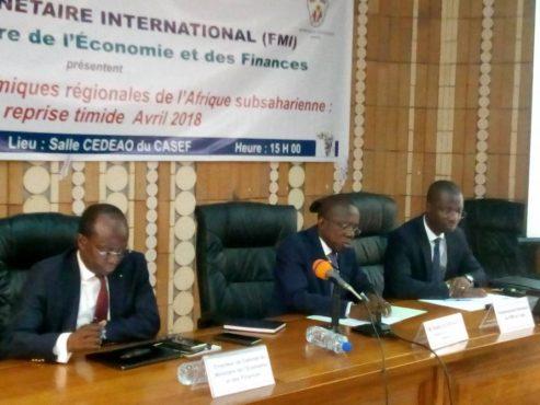 IMG 20180611 WA0012 493x370 - Perspectives économiques régionales en Afrique subsaharienne: une reprise timide de la croissance
