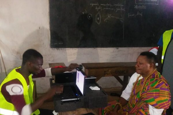 Recensement electoral visite du president kodjona 768x768 600x400 - Elections locales : la deuxième vague des OPS a entamé sa formation