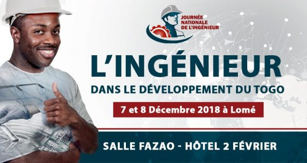 journée nationale de lingénieur 600x319 - Première journée nationale  de l'ingénieur au Togo : l'événement reporté au 07 et 08 décembre prochains