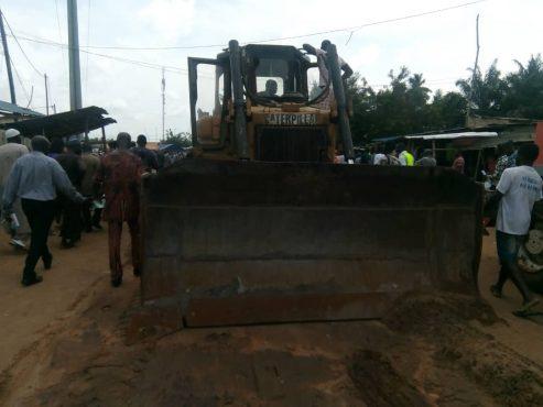 rue Adéticopé 493x370 - Réhabilitation de rues dans la préfecture d'Agoè-Nyivé : Adéticopé et Légbassito  également bénéficiaires