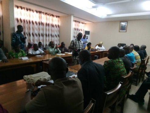 conf presse 2e dose vaccin rugeole rubéole 493x370 - Santé : le Togo va introduire à partir du 30 janvier prochain, la deuxième dose du vaccin contre la rougeole et la rubéole, dans sa vaccination de routine