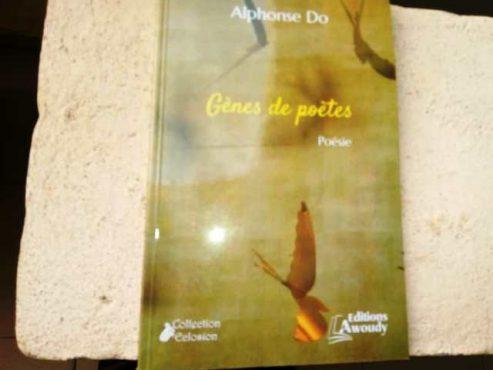 genes de poètes bon 493x370 - Littérature : ''Gènes de poètes'', un ouvrage de plus dans l'escarcelle d'Awoudy !