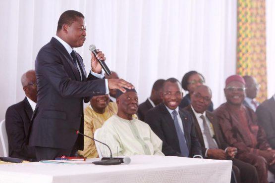 IMG 20190213 WA0050 555x370 - A Tabligbo , Faure Gnassingbé soumet ses ministres à un grand oral face aux représentants des populations