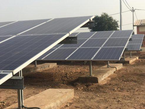 IMG 20190226 WA0062 493x370 - Énergie : Kountoum bénéficie d'une centrale solaire de 100 kWc