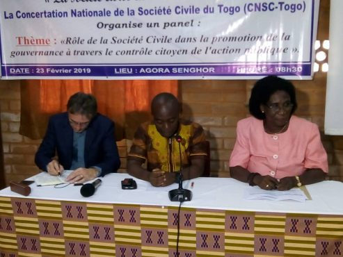 Panel CNSC 493x370 - JNSC : le contrôle citoyen de l'action publique, au centre d'un panel organisé par la CNSC-Togo