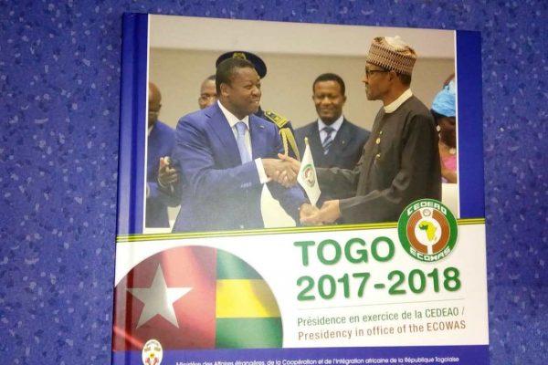 bilan présidence en exercice CEDEAO bon 600x400 - Un livre immortalise le passage du Togo à la tête de la CEDEAO entre 2017 et 2018