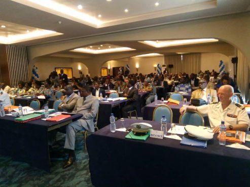 5è conférence maritime 493x370 - 5è conférence maritime : faire de l'espace maritime  togolais un hub de transport international