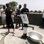 Forage Gros copé 150x150 - Humanitaire/  Dans la préfecture de Haho : « 1 -2- 3 Action » fait couler de l'eau potable à Gros Copé et  Grégokopé