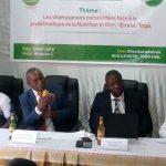 conf presse champiso 150x150 - Santé et bien –être : la  société  ''Sois éclairé Nutri-Togo Sarl '' engagée à faire découvrir aux Togolais les vertus des champignons