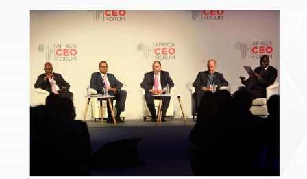 panel Africa CEO forum bon - Financement du PND: un panel de haut niveau à Africa CEO Forum
