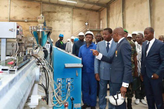 IMG 20190425 WA0100 556x370 - Tsévié abrite désormais une usine de production de matériels plastiques