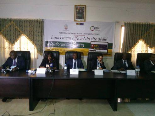 Lancement du site web dédidé au forum économique Togo UE 493x370 - Forum économique Togo-UE: lancement d'un site web dédié à l'événement