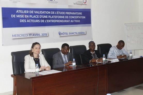 Plateforme entrepreneuriat 555x370 - Togo/ Vers la mise en place d'une plateforme de concertation des acteurs de l'entrepreneuriat