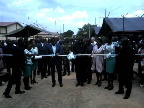 Marché Elavagnon 493x370 - Togo/Le PUDC offre un marché moderne aux populations de l'Est-Mono