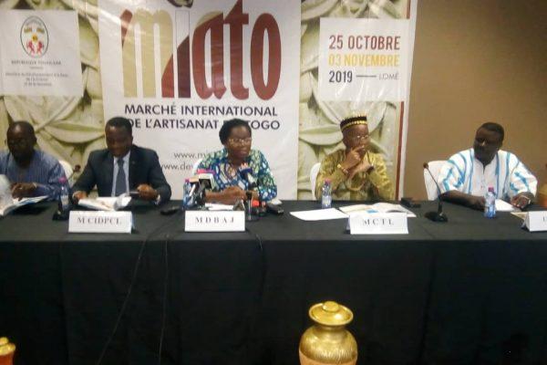 Lancement MIATO 600x400 - MIATO : un événement de portée internationale  dans le secteur artisanat togolais