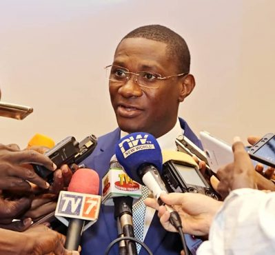 Artistide Agbossoumondé DG MIFA 399x370 - Agriculture: près de 2 milliards de crédits octroyés aux acteurs des chaînes de valeur grâce au MIFA.SA