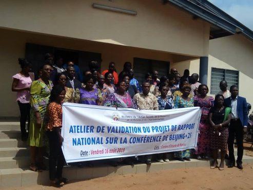 Atelier BEIJING25 493x370 - Beijing +25 : le rapport du Togo à l'étape de validation
