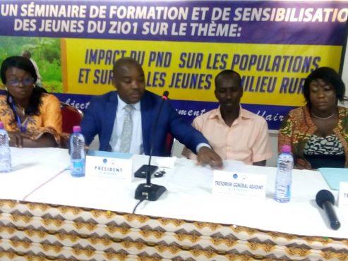 formation PND Zio 1 493x370 - Togo/ Deux jours de formation pour les jeunes du Zio 1 sur le PND