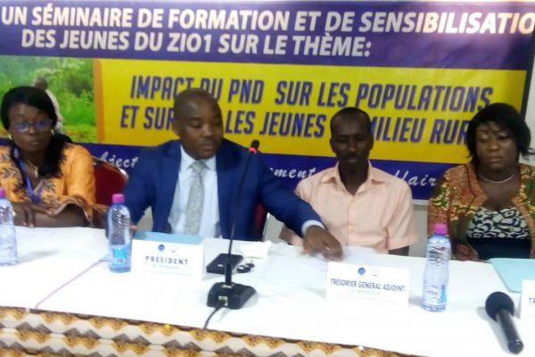 formation PND Zio 1 600x400 - Togo/ Deux jours de formation pour les jeunes du Zio 1 sur le PND
