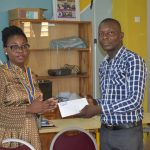 Sonia Tomégah bon bon 150x150 - Le Rotary Club Lomé-Perle fait don de fournitures et de frais de scolarité à 20 enfants démunis
