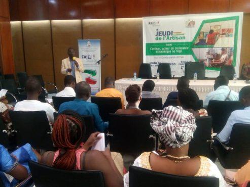 """IMG 20191101 WA0070 493x370 - MIATO/ Spécial """"Jeudi, j'ose"""": les artisans appelés à être des acteurs à part entière de la croissance économique au Togo"""