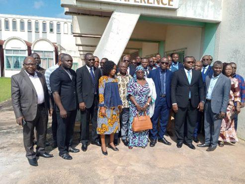 IMG 20191109 WA0081 493x370 - Finance inclusive : la dégradation du portefeuille à risque au centre d'une rencontre des responsables des SFD à Lomé